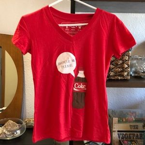 NWOT recycled authentic Coca Cola t shirt